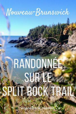 Split Rock Trail, Nouveau-Brunswick, Canada