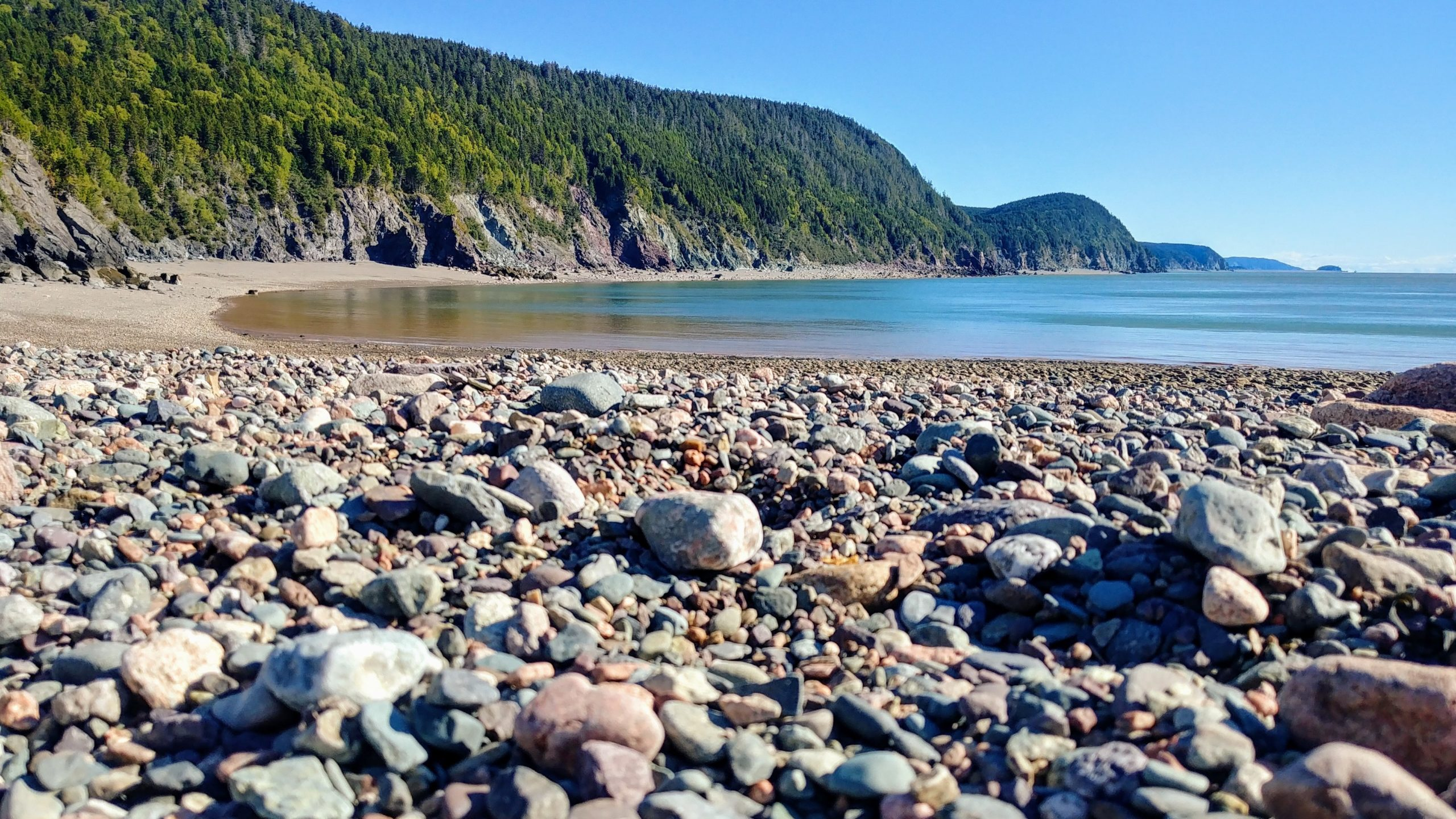 St Martins Fundy Trail Parkway randonnée plage Seely blog voyage Canada arpenter le chemin