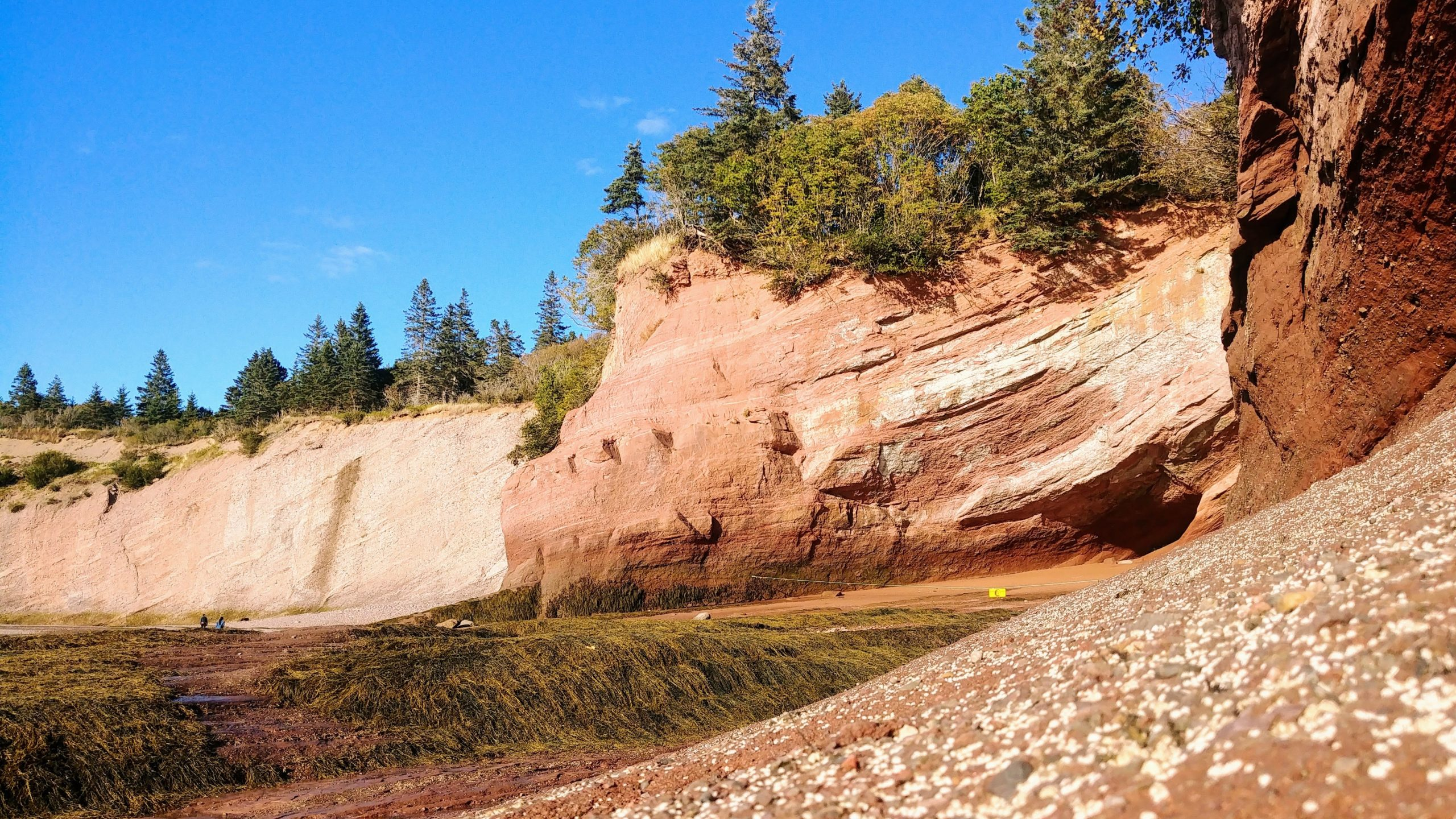 St Martins seacaves grottes infos pratiques Fundy Nouveau-Brunswick Canada blog voyage arpenter le chemin