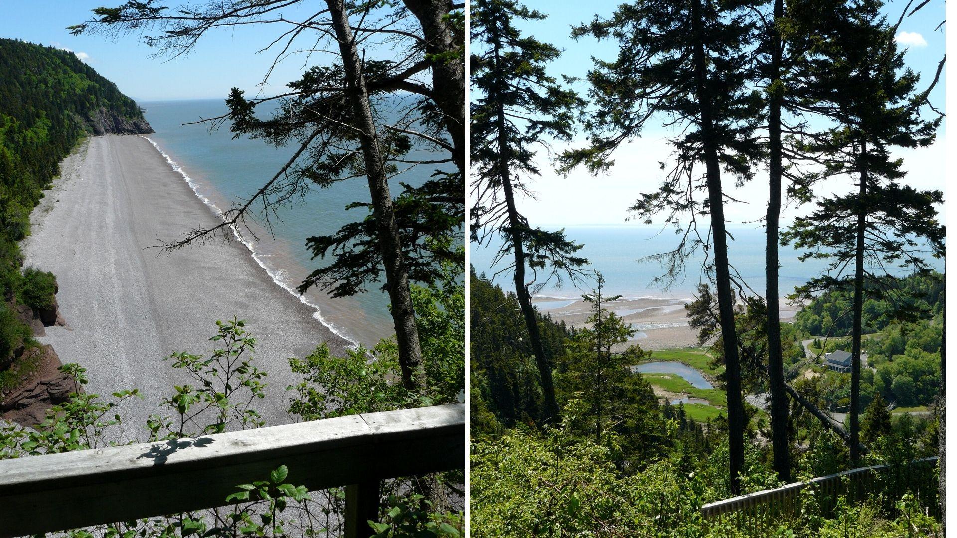 St. Martins - Fundy Trail Parkway - Nouveau-Brunswick, Canada
