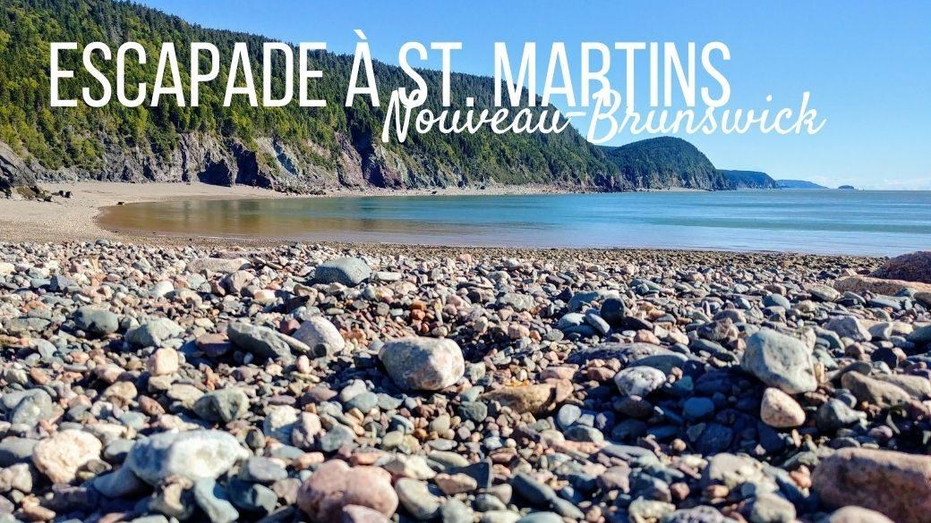 St. Martins, Fundy Trail Parkway et grottes marines - Nouveau-Brunswick