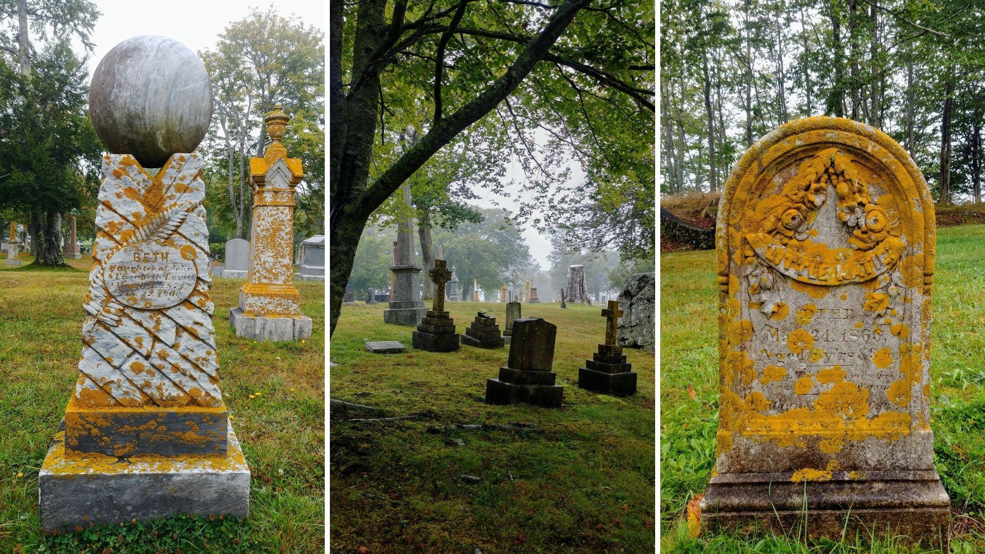 Yarmouth Mountain Cemetery visite infos pratiques road-trip Nouvelle-Écosse