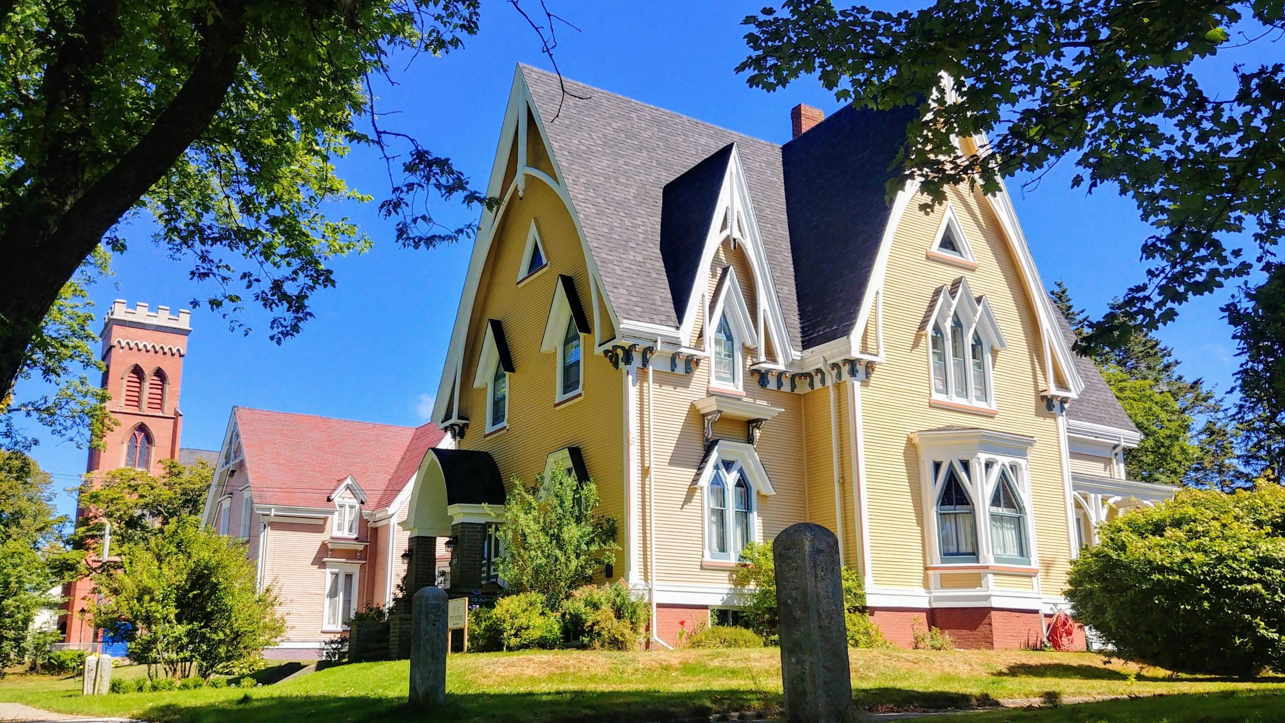 Yarmouth maisons historiques The Gothik gothic revival que voir que faire
