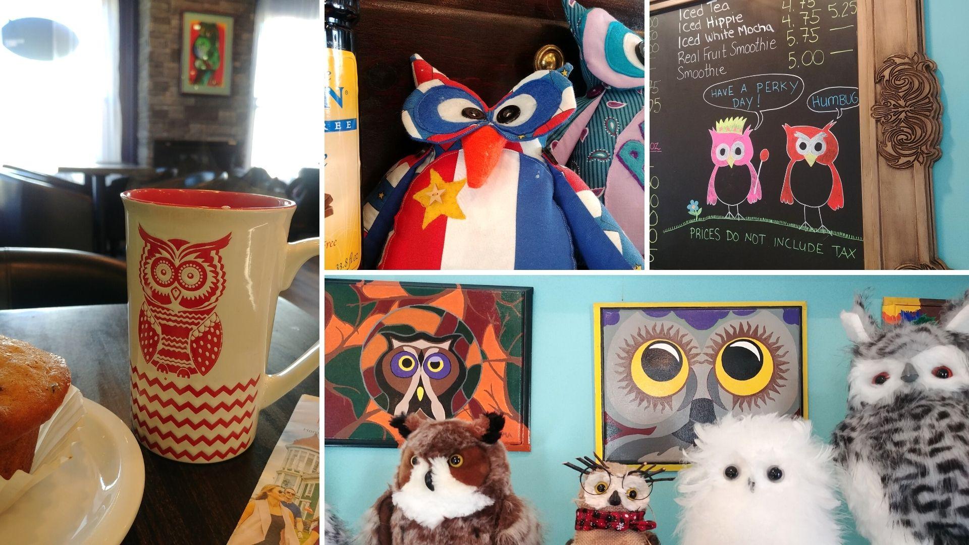 Yarmouth où manger Owl Café blog voyage Nouvelle-Écosse Canada Arpenter le chemin