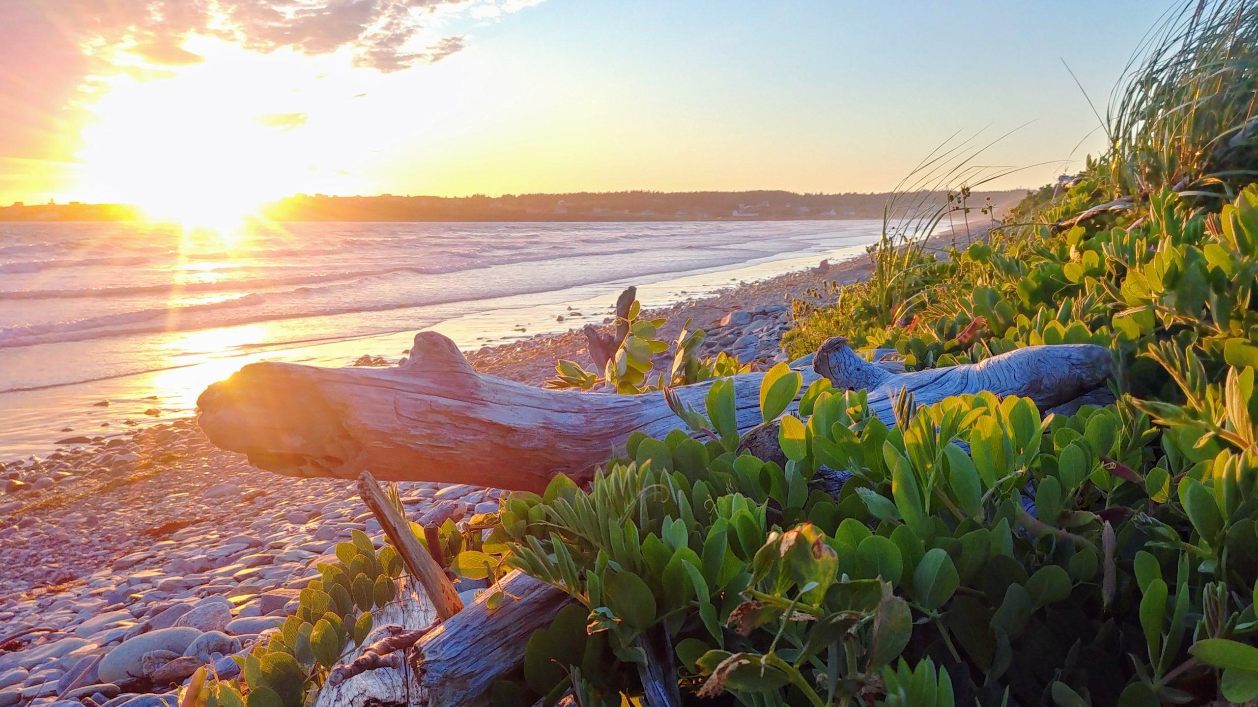Yarmouth parc provincial Mavillette Beach coucher de soleil infos pratiques