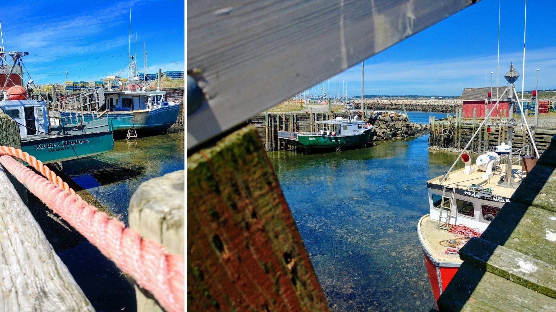 Yarmouth pont levis Sandford drawbridge visiter laNouvelle-Écosse itinéraire blog voyage