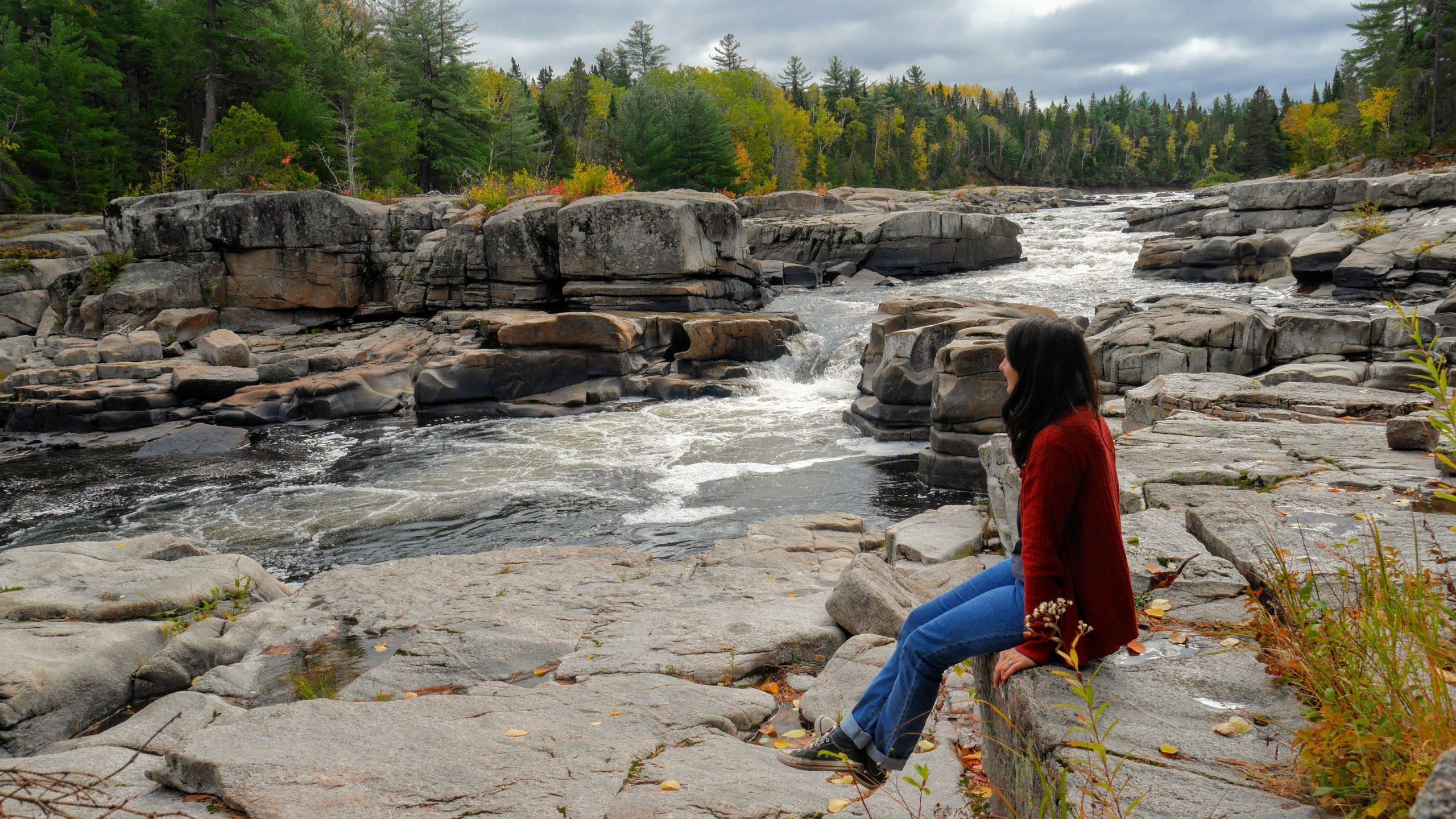 Chutes Pabineau Bathurst Nouveau-Brunswick infos pratiques voyage road-trip