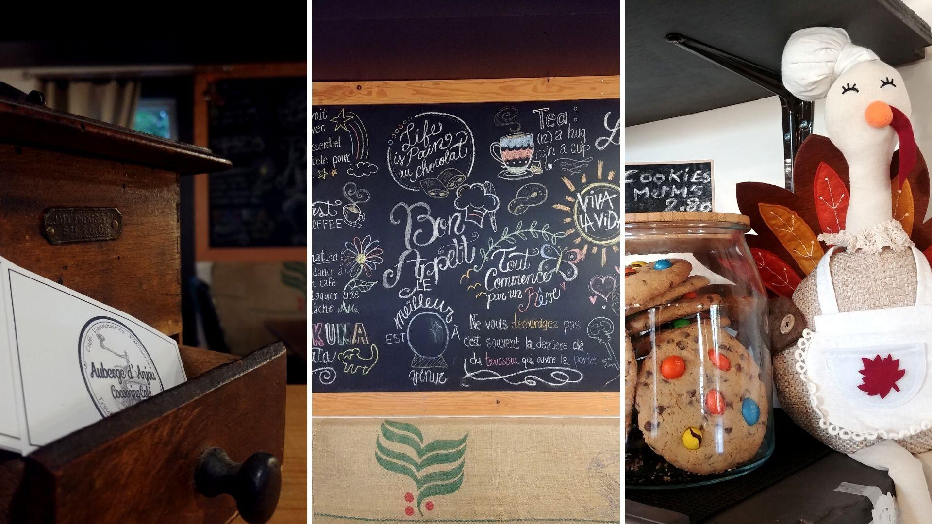 Cocooning Café où manger Petit Rocher Bathurst - Nouveau-Brunswick, Canada