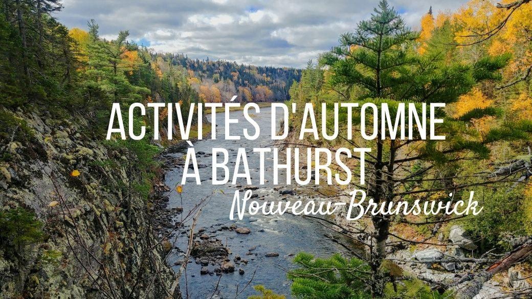 _La région Chaleur autour de Bathurst - Nouveau-Brunswick