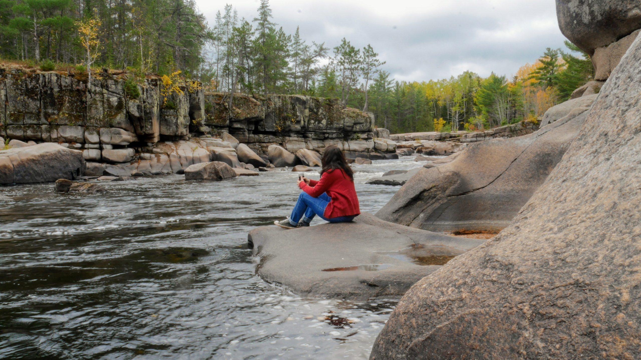 Région Chaleur Nouveau-brunswick Chutes Pabineau blog voyage Canada Arpenter le chemin