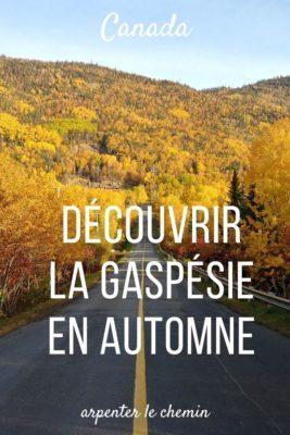 Découvrir la Gaspésie en automne - Québec
