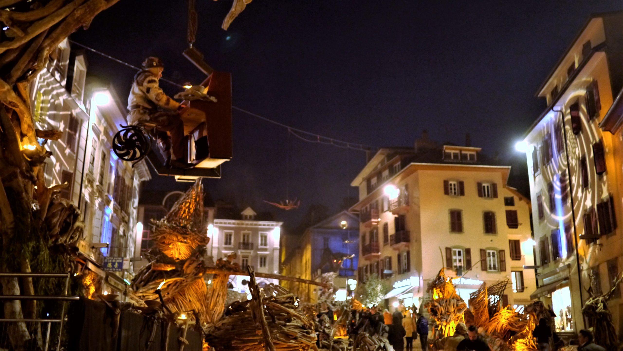 Evian-les-Bains visiter Noël village Flottins que voir blog voyage
