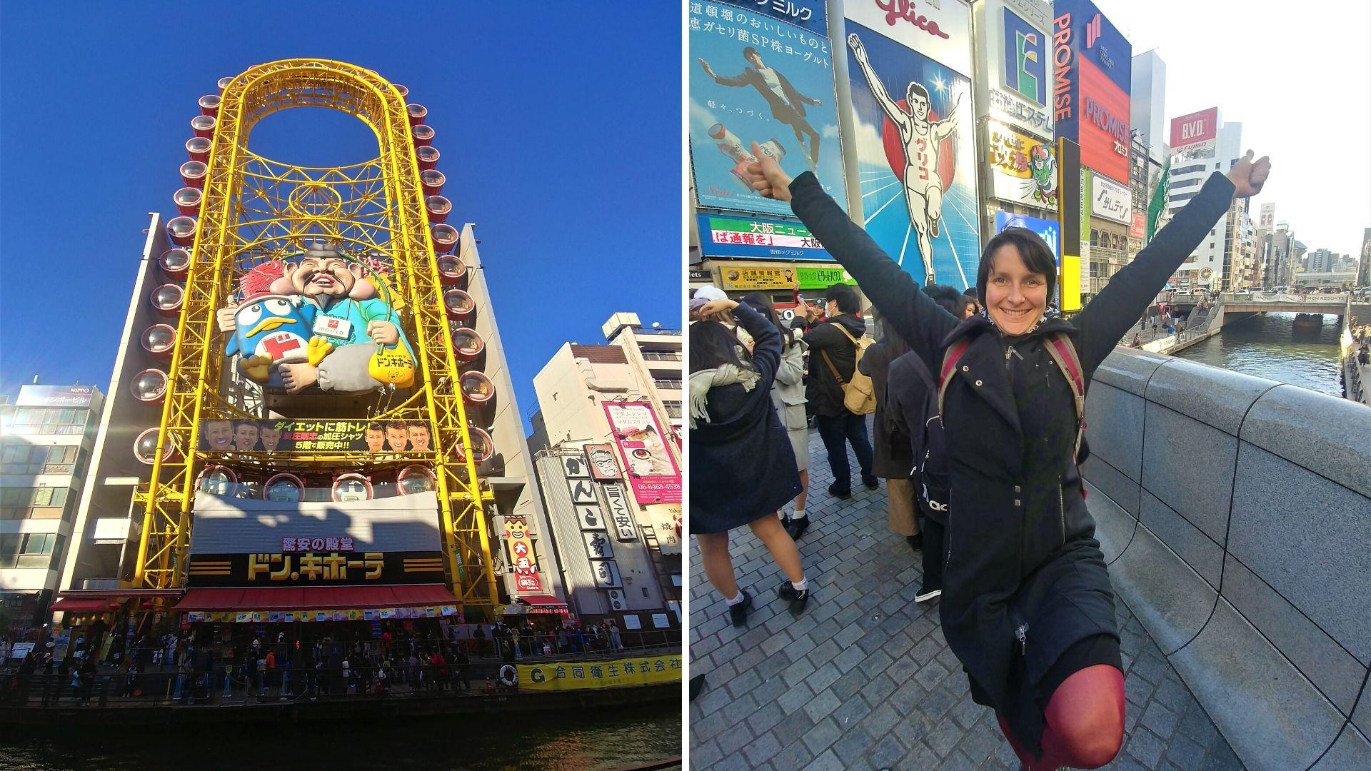 Osaka dotonbori blog voyage japon arpenter le chemin