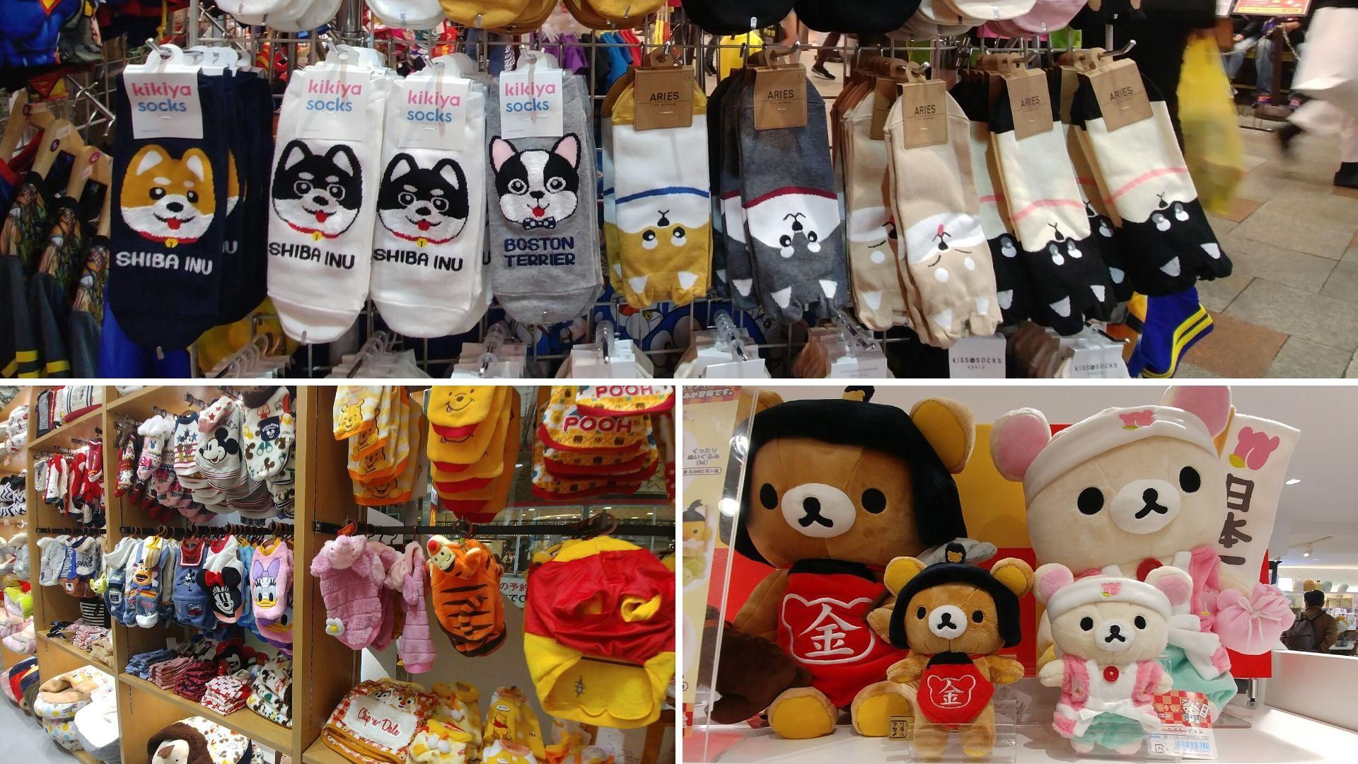 Osaka souvenirs kawaii blog voyage japon arpenter le chemin