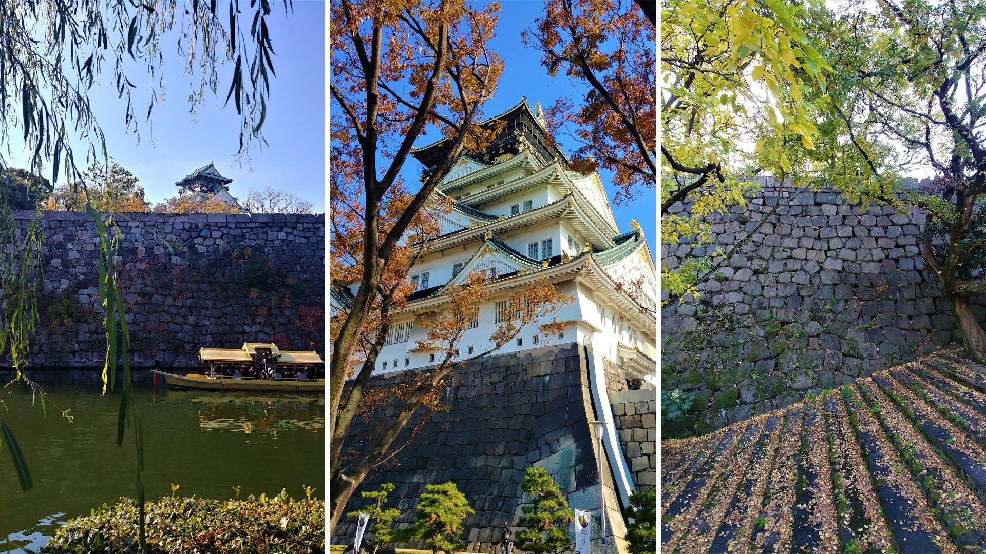 Osaka visiter chateau blog voyage japon arpenter le chemin
