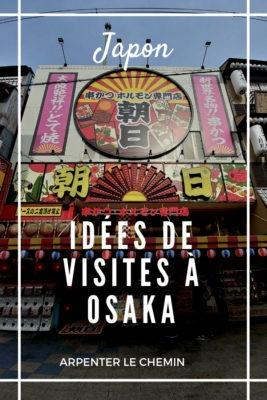 Osaka voyage Japon