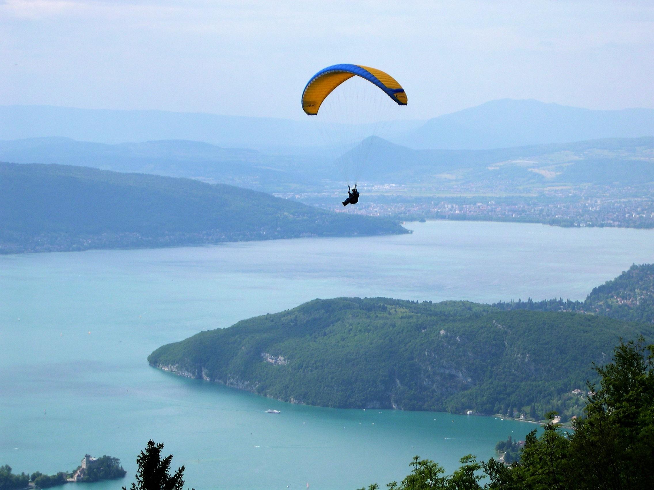 Parapente Lac Annecy Haute-Savoie