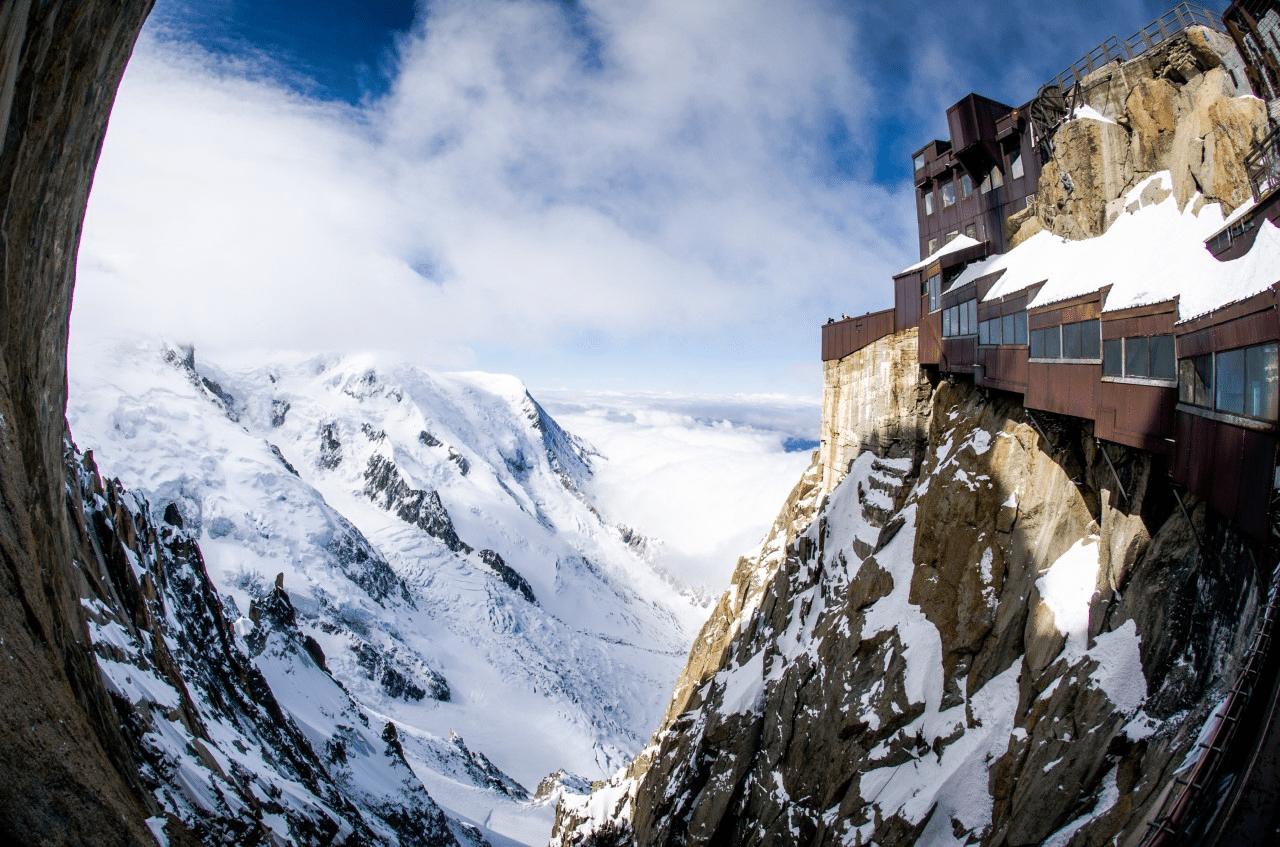 Pas dans le vide Chamonix Haute-Savoie
