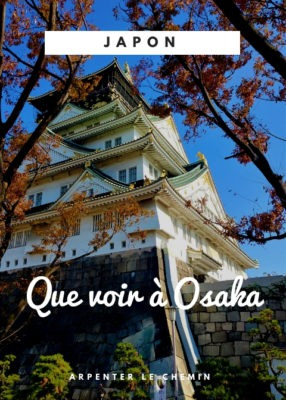 Que voir Osaka voyage Japon