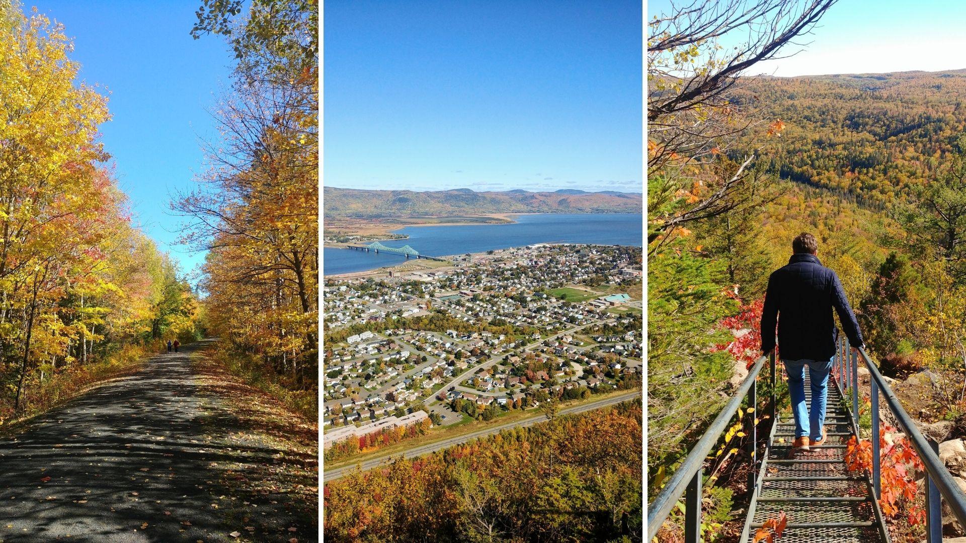 Randonnée d'automne au Nouveau-Brunswick - Mont Sugarloaf, Campbellton