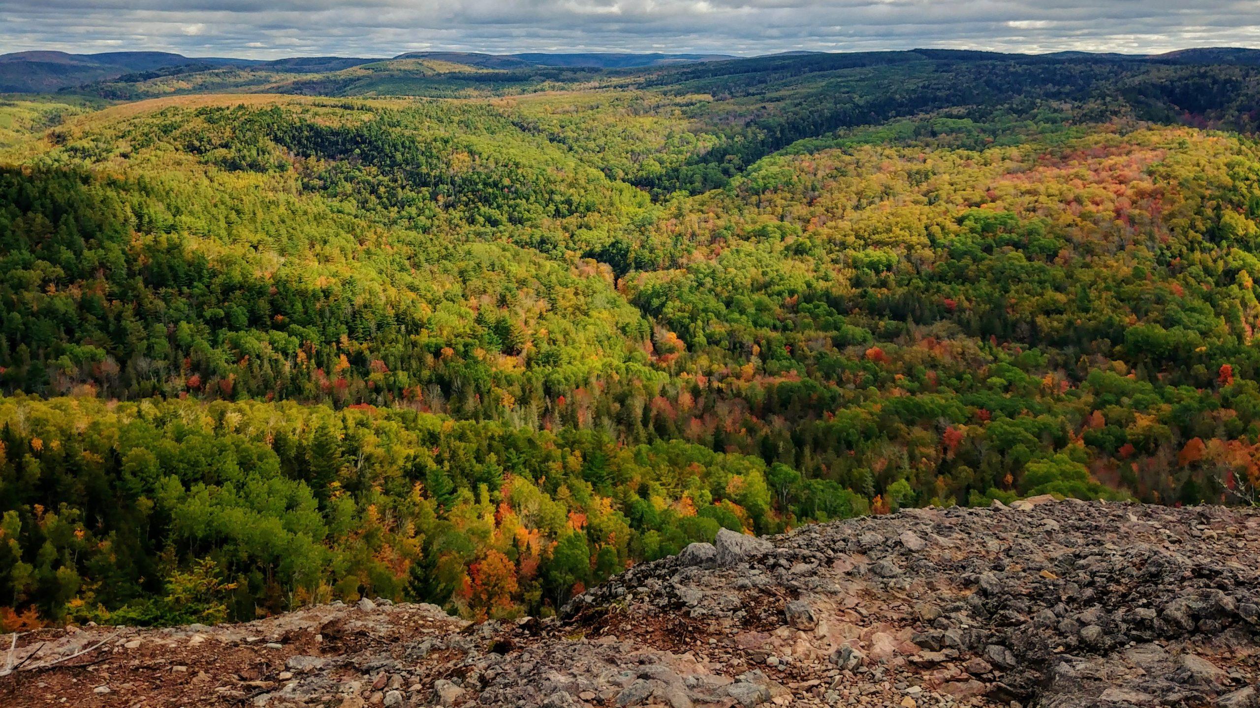 Randonnées couleurs automne Nouveau-Brunswick - Friar's Nose Sussex