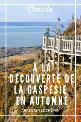 Visiter la Gaspésie en automne