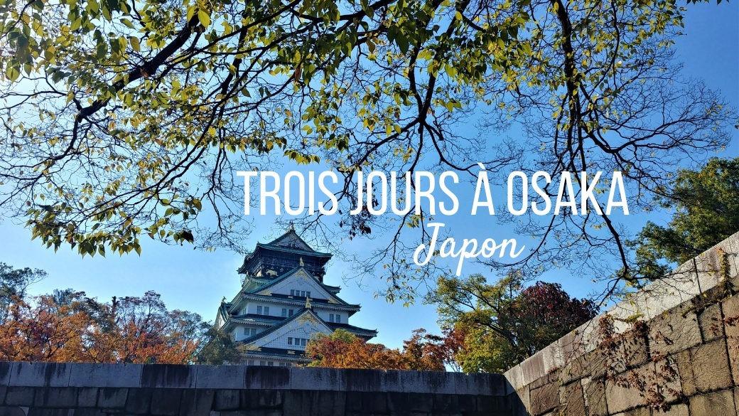 Voyage Osaka Japon