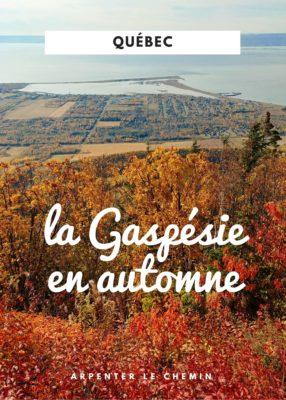 Voyager en Gaspésie en automne - Québec