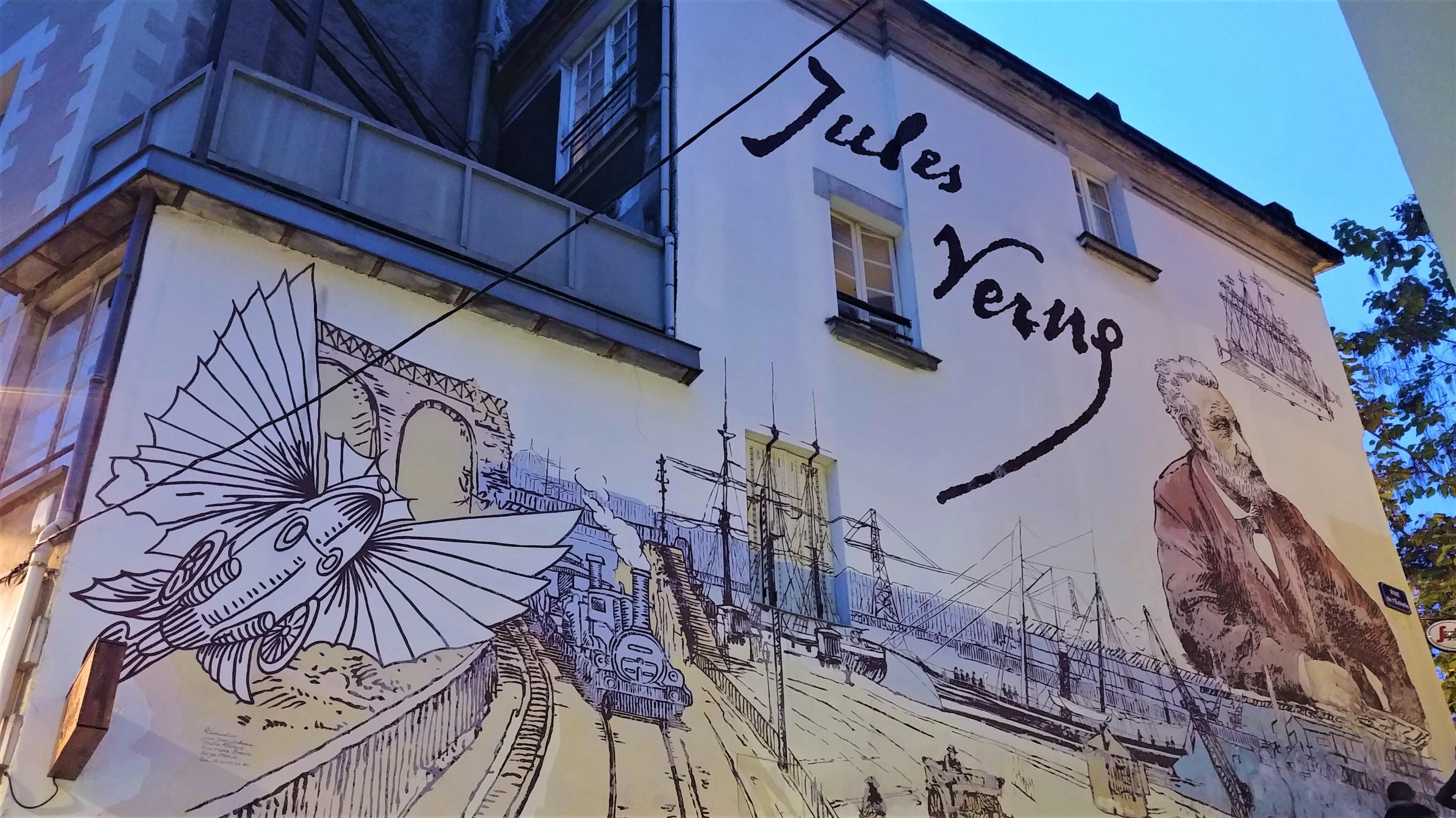 nantes circuit jules verne blog voyage france