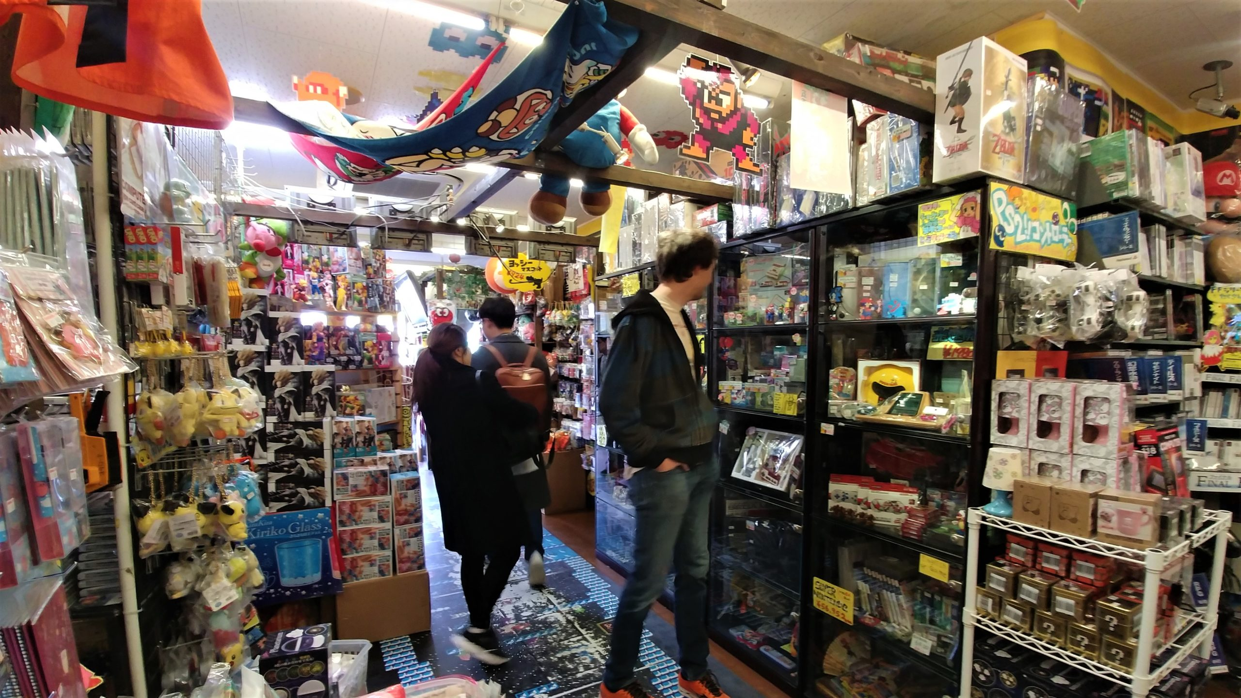 osaka dendentown visiter otaku mangas blog voyage japon arpenter le chemin