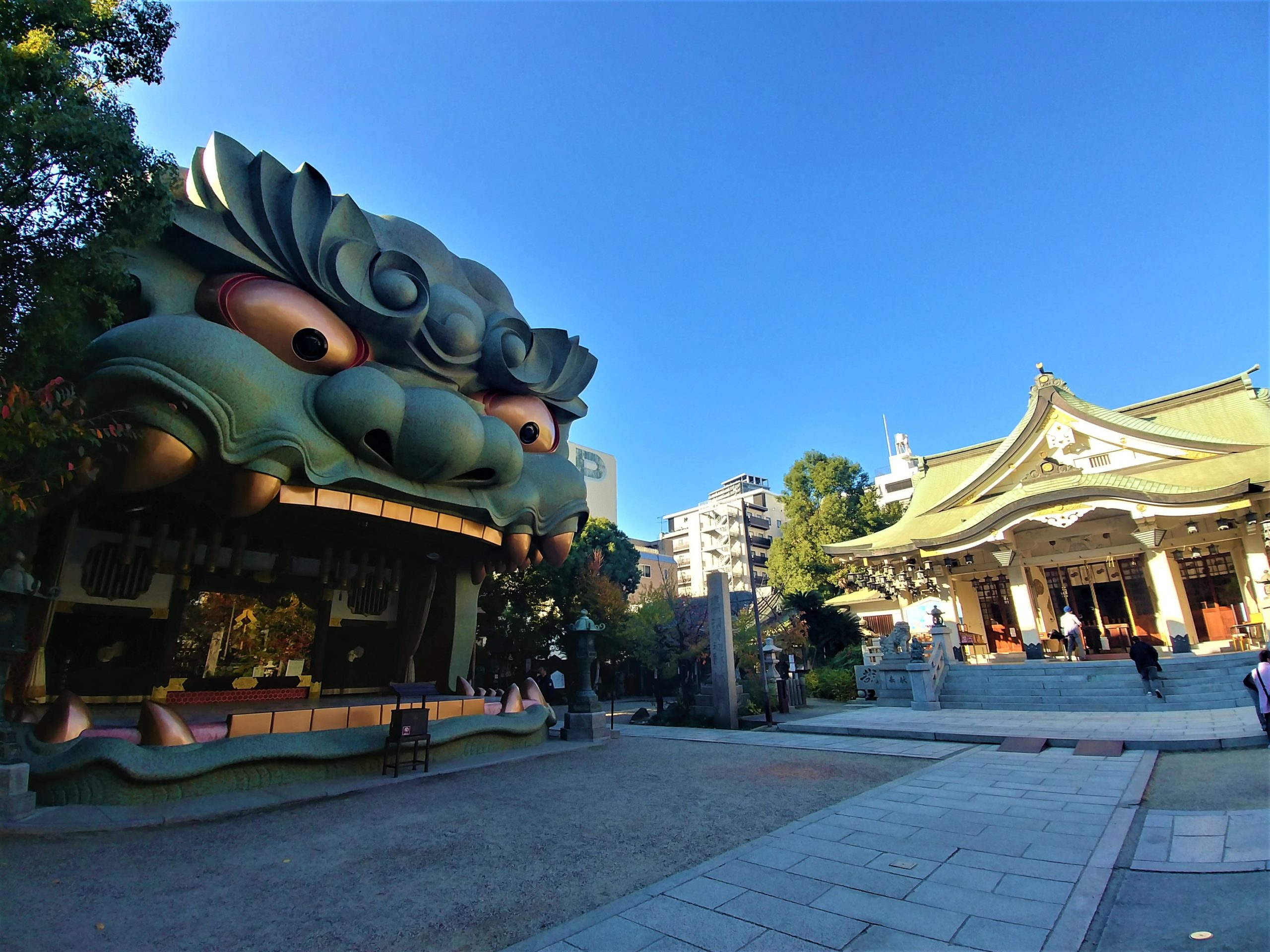 osaka temple tigre visiter infos pratiques japon arpenter le chemin