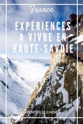 Expériences à vivre en Haute-Savoie