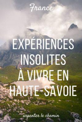 Expériences en montagne en Haute-Savoie