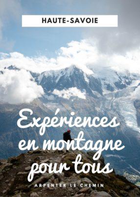 Expériences en montagne pour tous les niveaux en Haute-Savoie