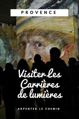 Les carrieres de lumiere - Visite en Provence - Arpenter le chemin blog de voyage