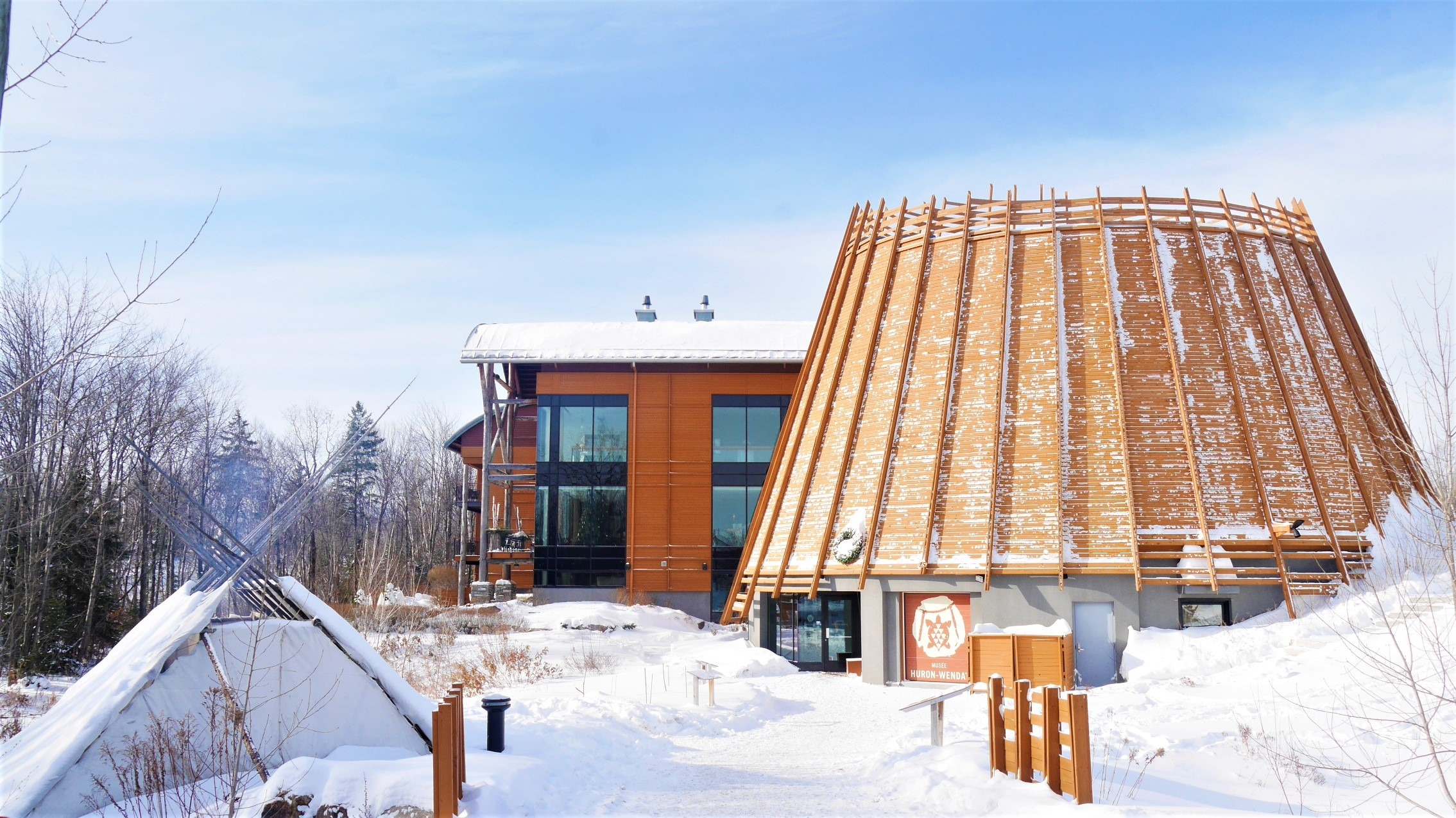 Quebec Noel Wendake que voir infos pratiques blog voyage canada hiver arpenter le chemin