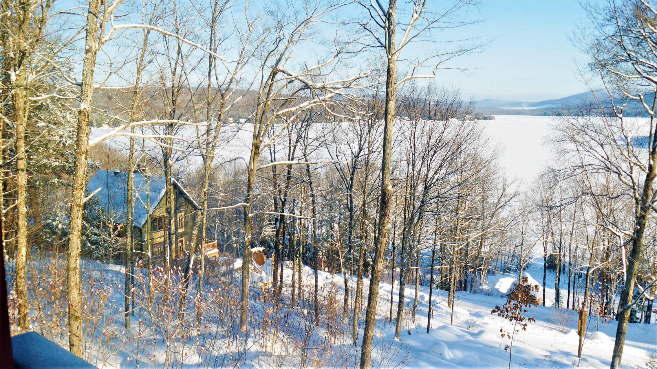 Quebec Station touristique duchesnay auberge ou dormir blog voyage canada hiver arpenter le chemin