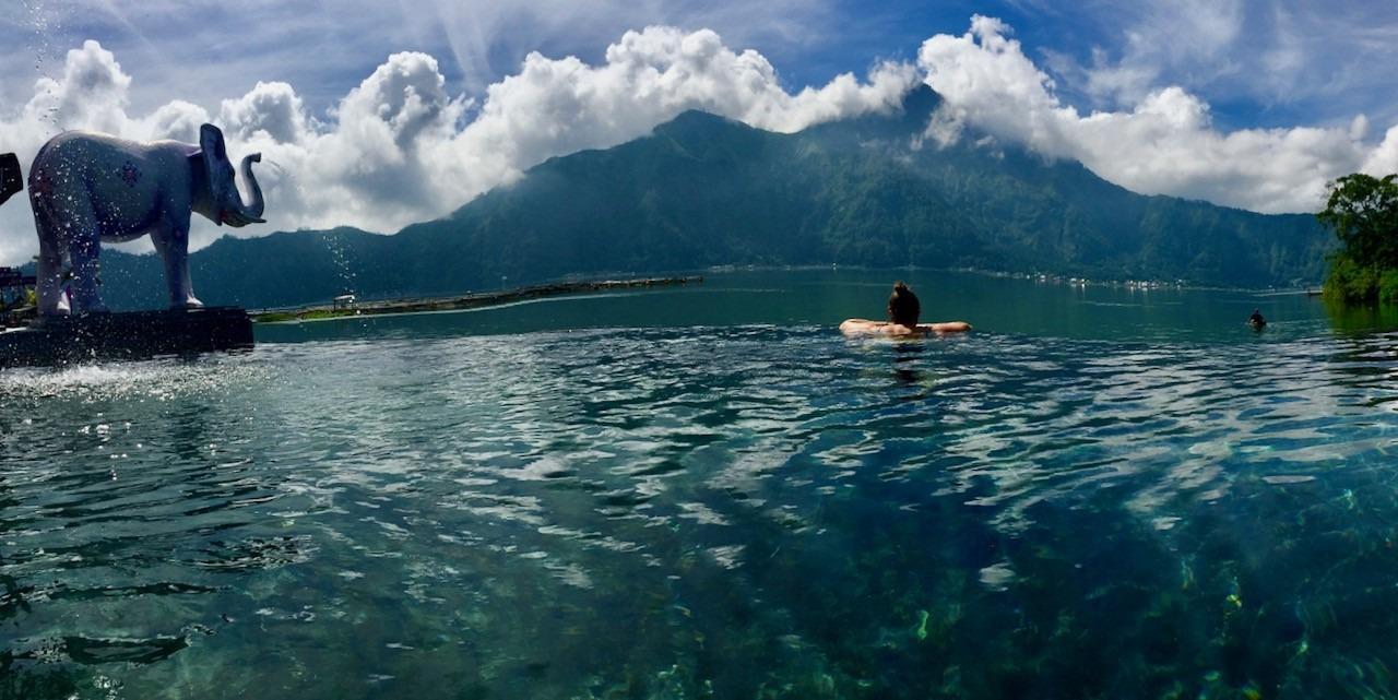 Source chaude Bali Indonésie
