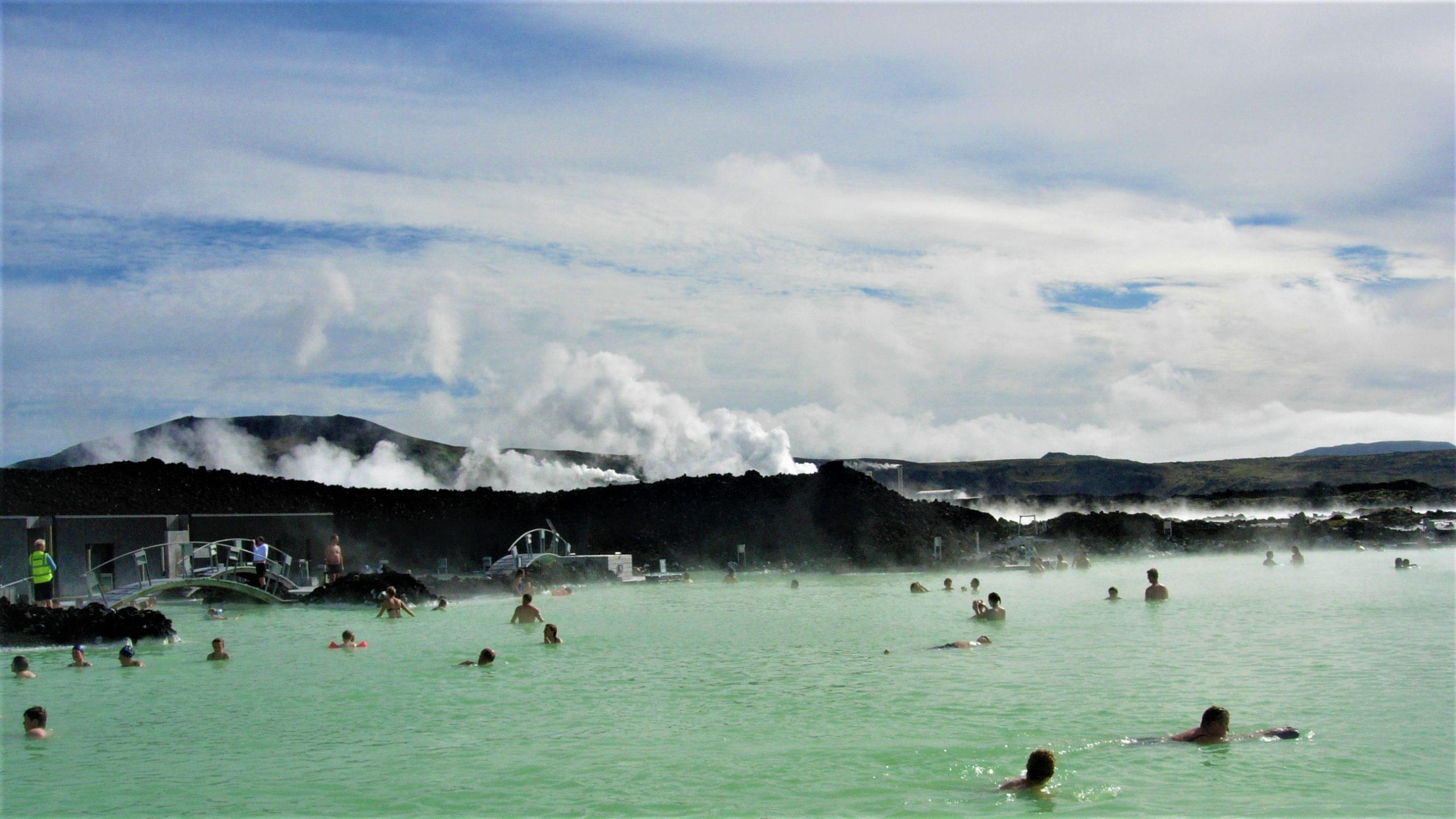 Source chaude Blue Lagoon Islande