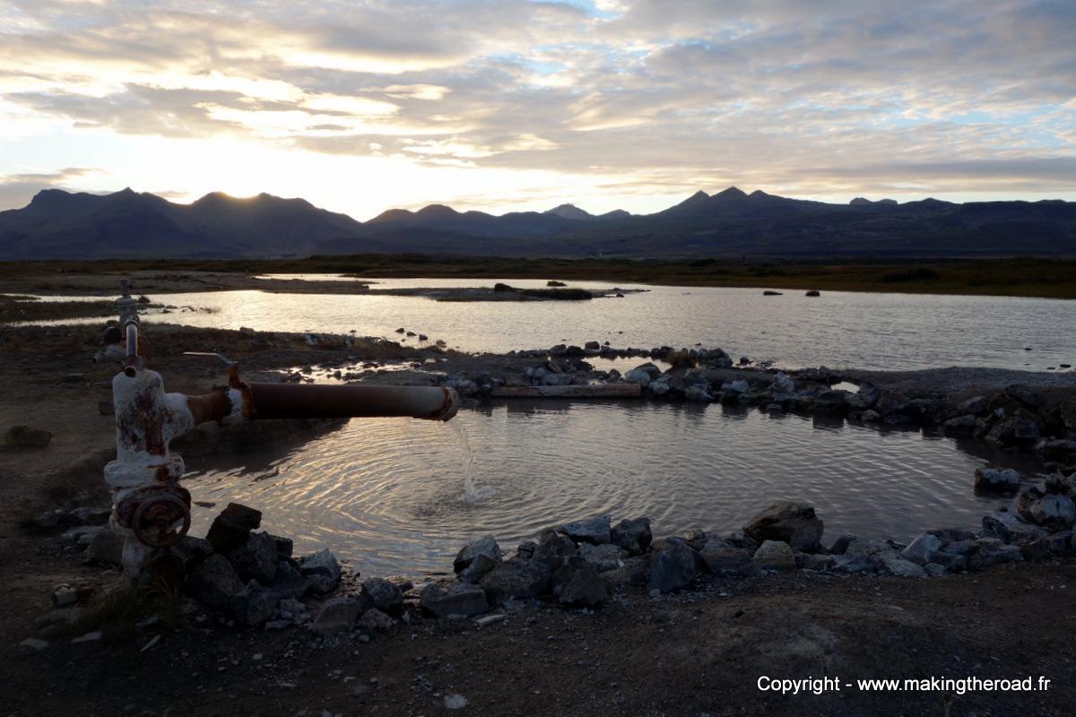 Source chaude Islande Landbrotalaug