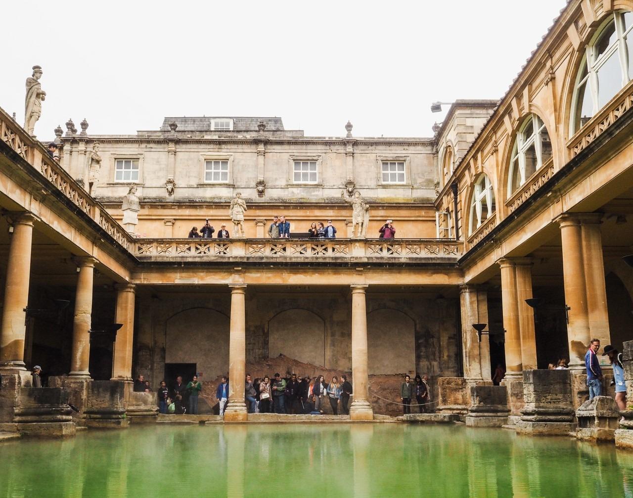 Source thermale Bath Angleterre