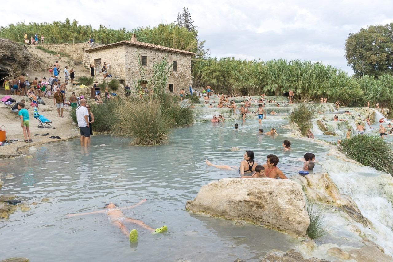 Sources Saturnia Toscane Italie