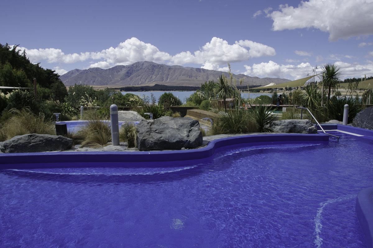 Tekapo Hot Springs Nouvelle-Zelande