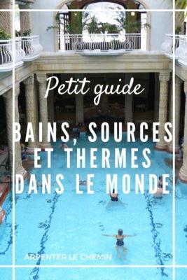 bains sources thermes monde