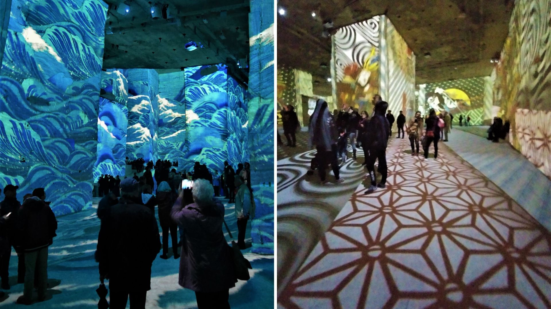carrieres lumieres japon blog voyage france provence arpenter le chemin