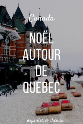 noel quebec canada hiver voyage