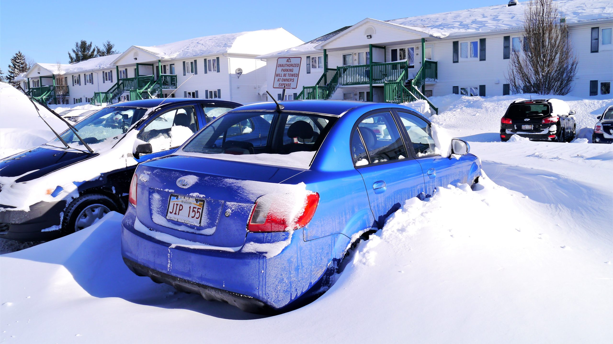 Canada tempete neige road-trip hiver blog voyage arpenter le chemin
