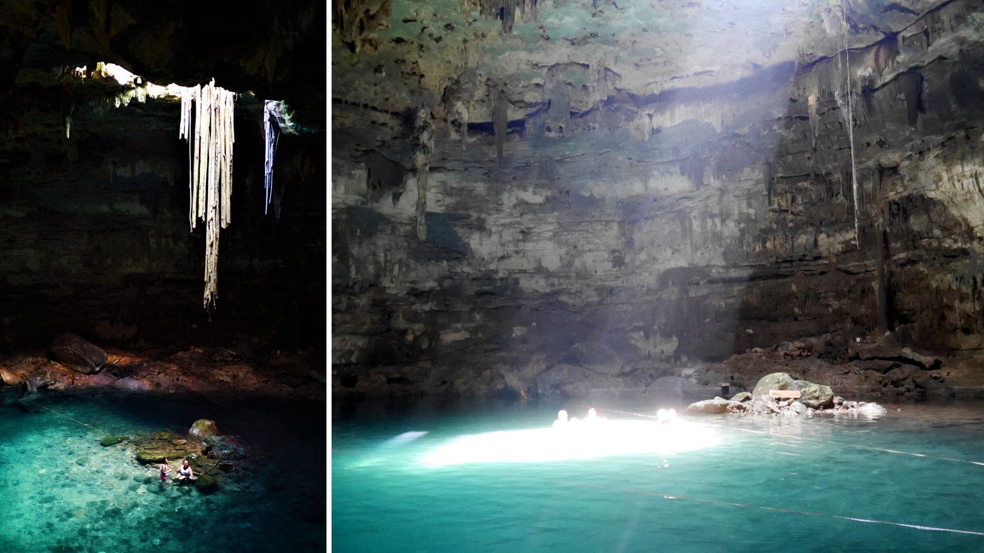 Cenote Samula Dzitnup Valladolid blog voyage Yucatan Mexique arpenter le chemin