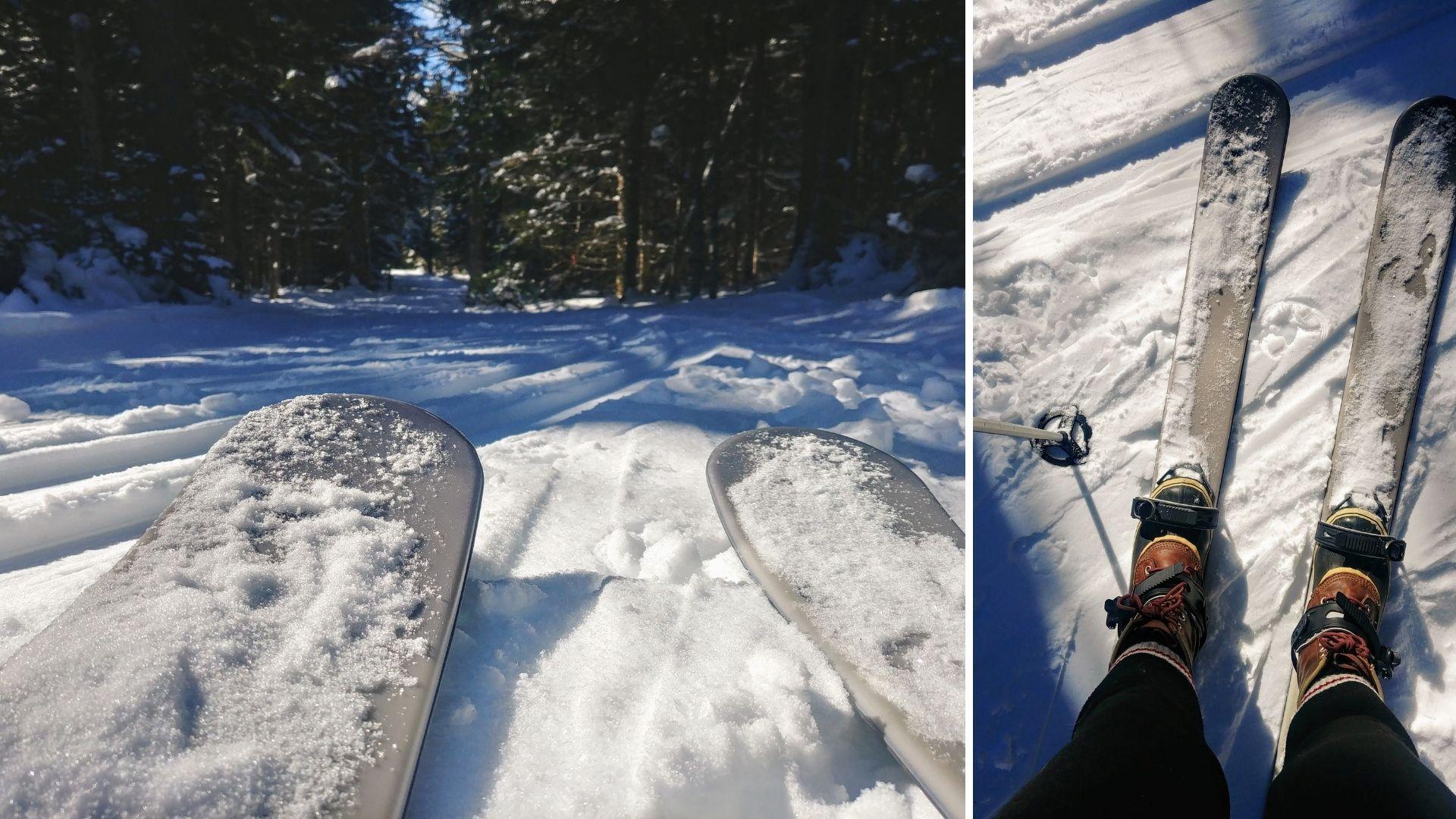 Parc Fundy skis-raquettes activités hiver