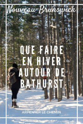 Que faire en hiver autour de Bathurst, Nouveau-Brunswick